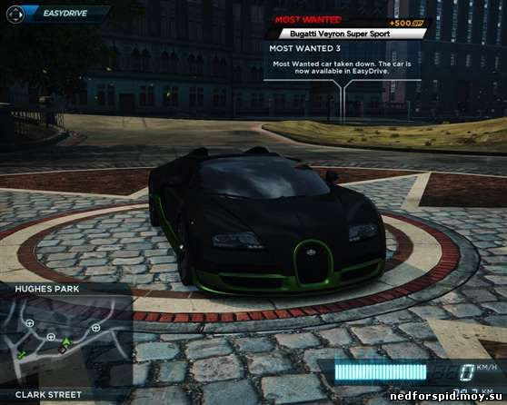 Need for speed most wanted is from ea games bmw m3 gtr back in black